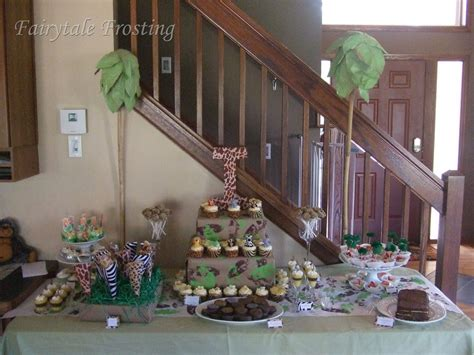 jungle themed bathroom baby shower desserts jungles baby shower ideas jungle