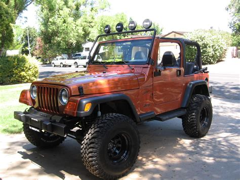 What Is A Tj Jeep Cougrrrr 2001 Jeep Tj Specs Photos Modification Info At