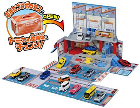 Tomica Town Box 1 new tomica town maintenance tool box set plakids