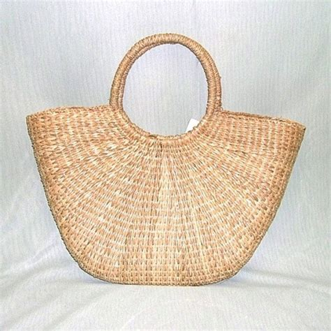 Handmade Straw Bags - straw bag woven handmade