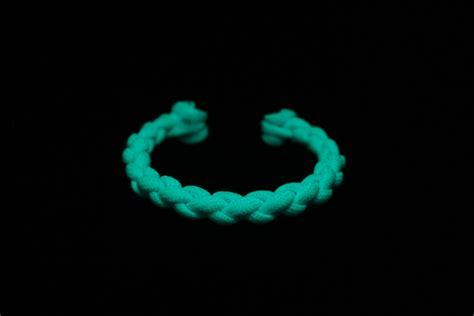 Diton Cerulean Blue limited edition cerulean blue glow in the paracord