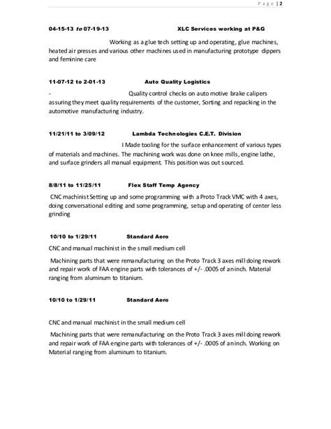 Resume D Gray by Resume Charles Gray 2015 Post Lsi