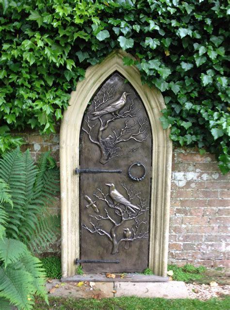 Garden Doors by Secret Garden Door Reed Sculpture