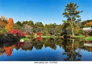 Bar Harbor Botanical Gardens by Azalea Garden Stock Photos Azalea Garden Stock Images