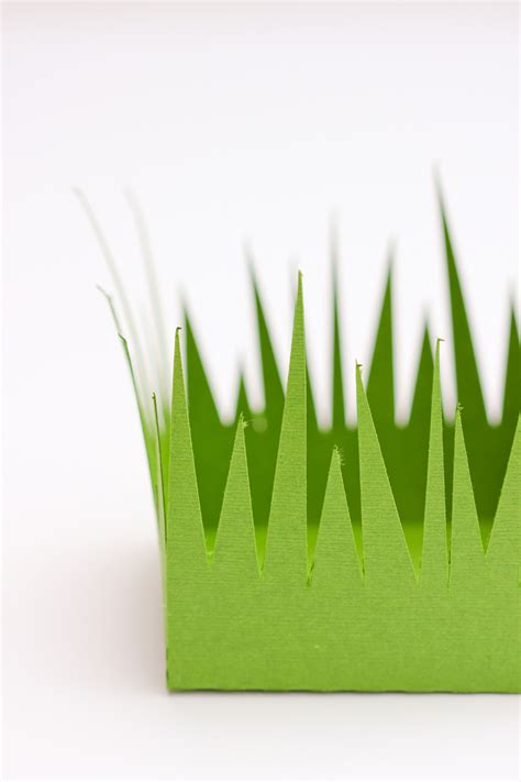 How To Make Paper Out Of Grass - grass paper boxes free cut files