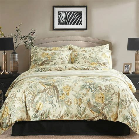 chinoiserie bedding chinoiserie chic peacock duvet cover set eikei