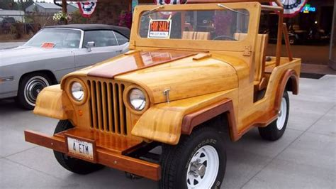 Wooden Jeep 1960 Wooden Jeep Collegestation Oh2