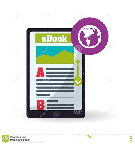 graphics design ebooks free download ebook design reading icon white background vector