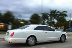 White Bentley Coupe White Bentley Brooklands Coupe Miami Cars