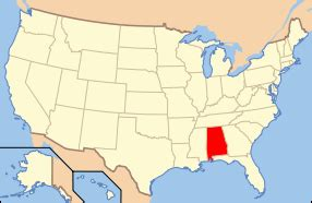 map of us with alabama highlighted alabama asylum projects