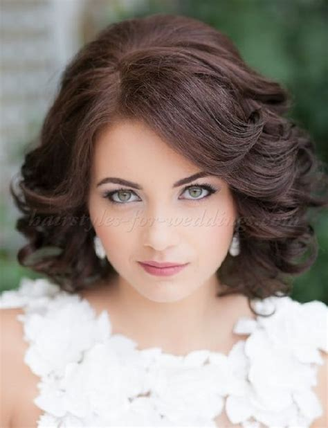 Wedding Hairstyles For Medium Length Wavy Hair by Wavy Wedding Hairstyle For Medium Hair Wedding