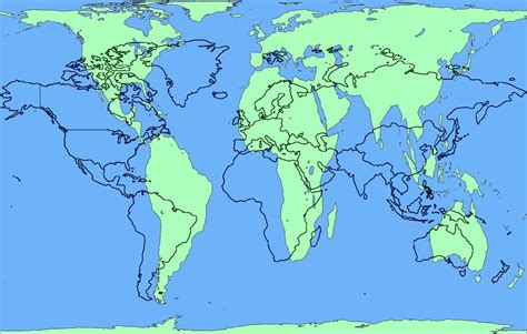 real world map real geography us not so exceptional pied type