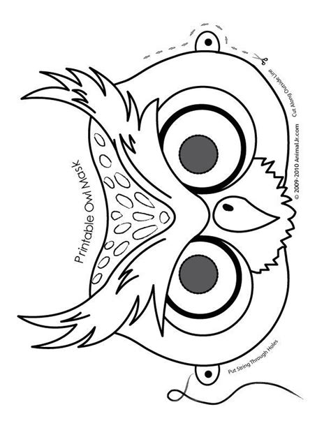 owl templates printable az coloring pages