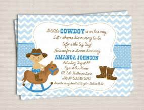 buckaroo cowboy baby shower custom printable shower invitation 10 00 via etsy
