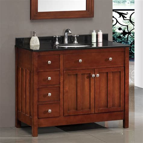 Ove Bathroom Vanities Ove Decors Lyon 42 Quot Single Bathroom Vanity Set Reviews Wayfair