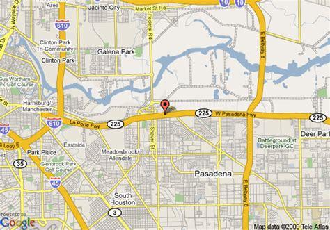 texas casino map map of econo lodge pasadena pasadena