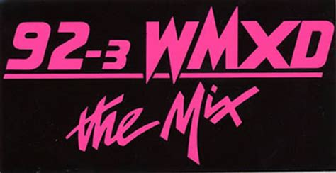 Wmuz The Light by Detroit Radio Logos Bumper Stickers