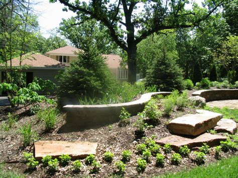 landscaping landscaping ideas for a berm