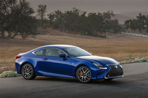 lexus rc coupe enhanced for 2016 with trio of engine choices