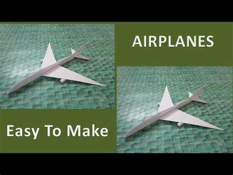 How To Make A Paper Foot - how to make a paper airplane that flies 10000 easy