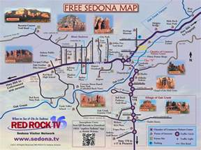 map of sedona featured on sedona tv your 1 guide to sedona