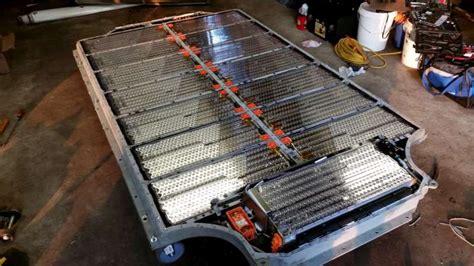 Tesla Battery Teardown Tesla Model S Battery Teardown Hackaday