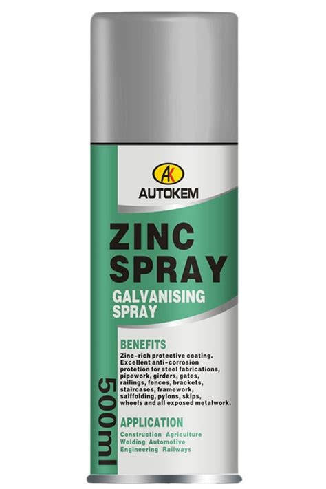 spray paint zinc zinc coating spray cold galvanizing zinc spray cold