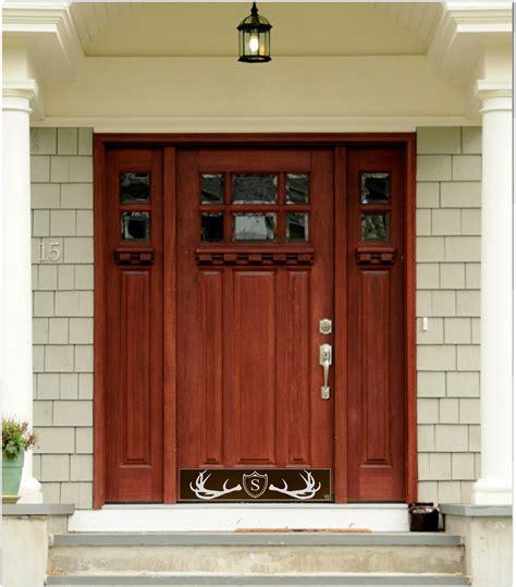 Magnetic Kick Plates For Exterior Doors Front Door Footplate Softwood Door Threshold U0026 Pezcame