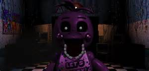 Purple toy chica jumpscare by therubyminecart on deviantart