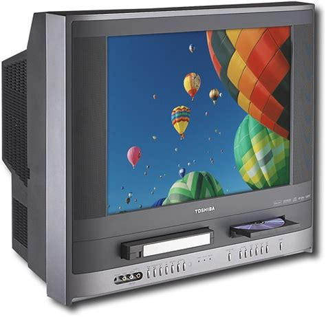 "Best Buy: Toshiba 20"" 480i FlatTube TV/DVD/VCR Combo MW20H63"