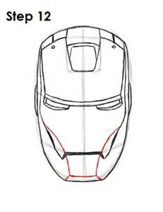 ironman drawing how to draw iron