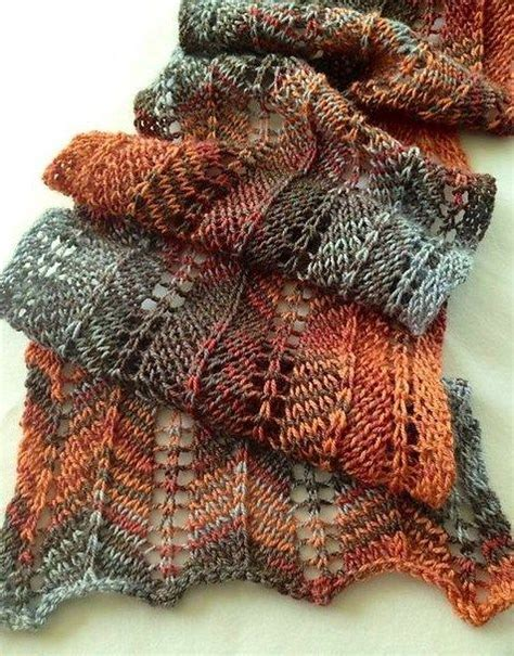 scarf pattern variegated yarn 242 best images about knitspiration variegated yarn