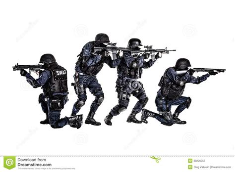 Swat White swat team in royalty free stock photography image 38226757