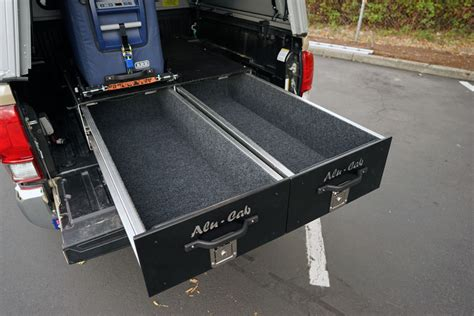 truck bed drawer system tacoma alu cab drawer system adventure ready