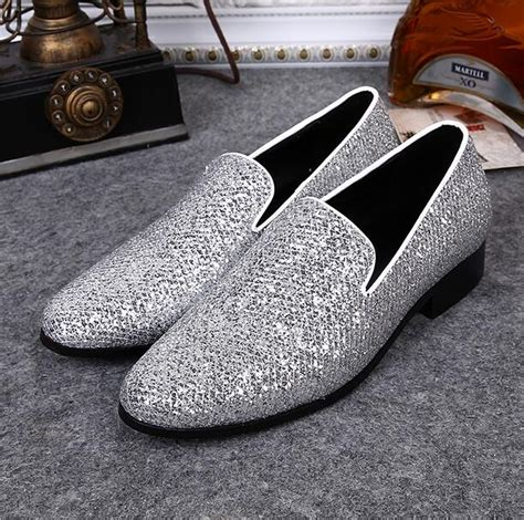 silver loafers mens get cheap mens silver loafers aliexpress