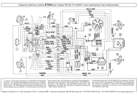 modern vespa t5 mk1 wiring diagram