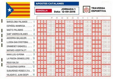 Calendario Wasap 191 C 243 Mo Ser 237 A La Quiniela De Una Hipot 233 Tica Liga Catalana De