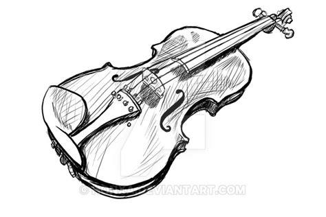 imagenes a lapiz de violines como dibujar un violin a lapiz imagui
