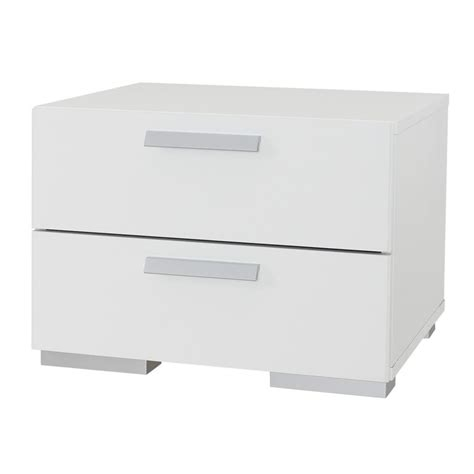 white bedroom side tables retro small wooden nightstand with drawers 4 legs in white