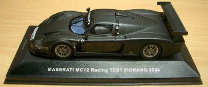 racing minicar fiorano ixo 1 43 maserati mc12 racing test fiorano 2004