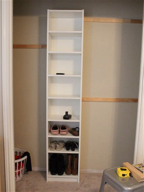 ikea bookshelf closet hack how to build your own closet built ins using a billy