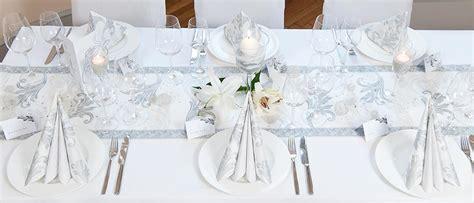 Tischdeko Hochzeit Silber by Tischdeko Silberhochzeit Ratgeber