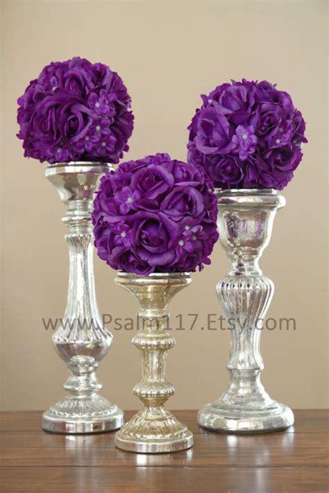 plum wedding centerpieces the world s catalog of ideas