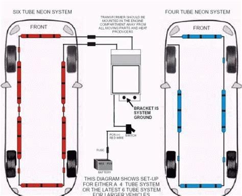 led wiring diagram neon wiring diagrams