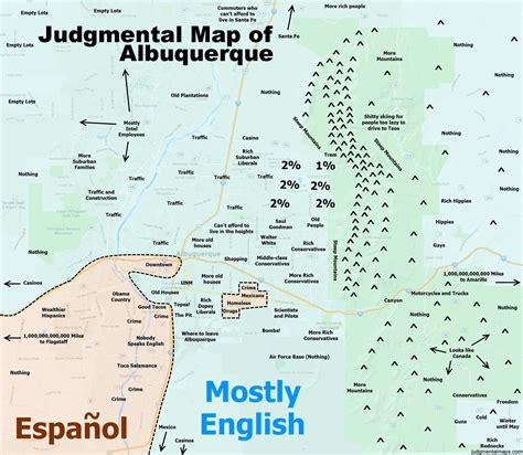 maps albuquerque marc valdez weblog judgemental map of albuquerque