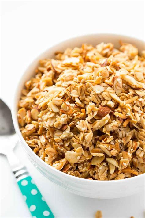best recipe for granola best granola recipe