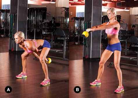 kettlebell swing workout kettlebell workout kettlebell workout for