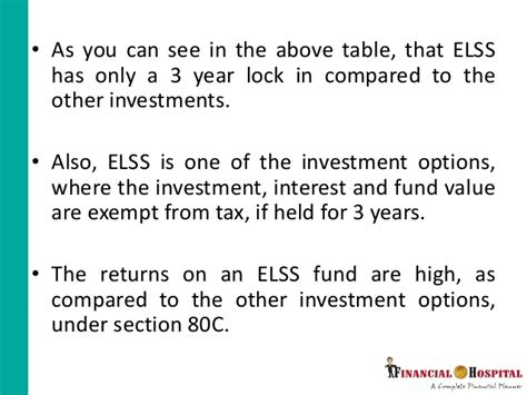 interest on ppf is exempt under which section how to save tax through elss