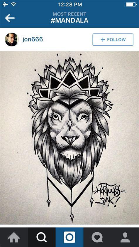 tattoo fixers lion lion mandala tattoo s pinterest mandalas love this