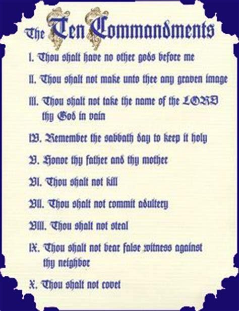 printable version of catholic ten commandments is legislating morality biblical